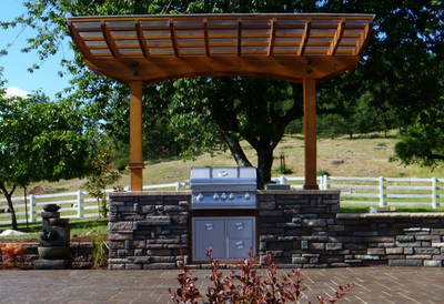 Outdoor Kitchen Design And Installation Eugene Landscape Design Graham Landscape Design