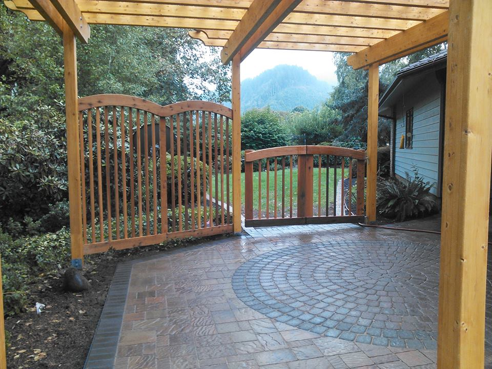 interlocking paver patio, paver circle kit, paver installation
