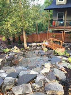 Eugene Landscaping Water Feature Installation Eugene