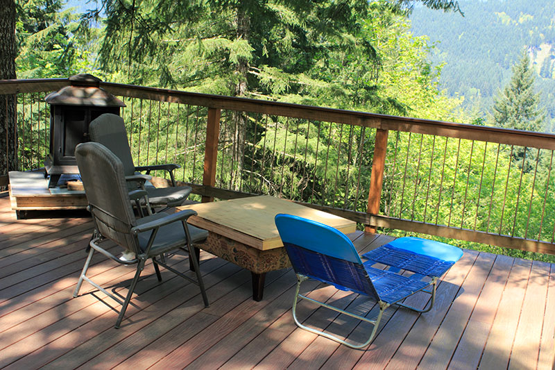 Decking material options Graham Landscape and Design Eugene Oregon